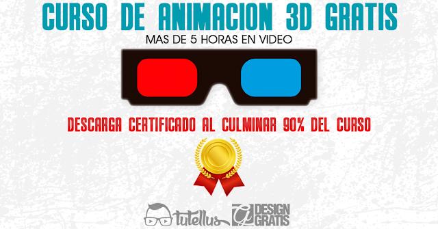 Curso de animación 3D gratis | +5hrs en video