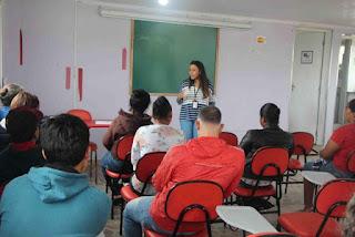Bolsistas da Frente de Trabalho da Ilha iniciaram cursos de capacitação no centro de formação