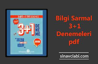 Bilgi Sarmal 3+1 Denemeleri pdf
