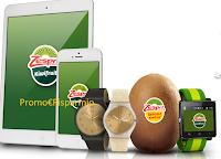 Logo Concorso Zespri : cerca il kiwi d'oro e vinci 64 orologi