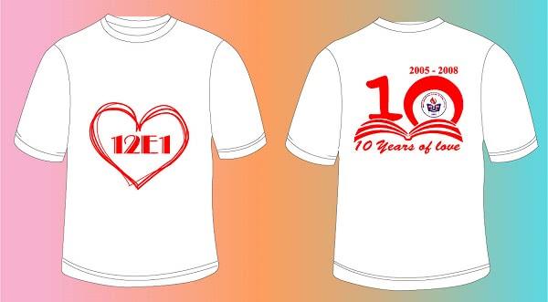 Đồng phục kỷ niệm 10 năm ra trường 2