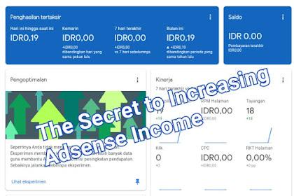 6 Rahasia Meningkatkan Penghasilan Google Adsense
