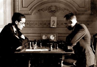 Torneo Nacional de Madrid 1941, partida de ajedrez Reig-Ribera
