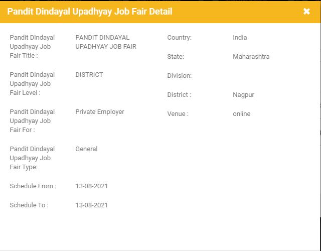 Nagpur Job Fair 2021