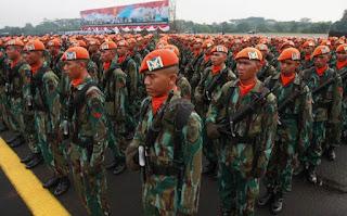 Gladi Bersih HUT ke-71, TNI AU Latih Keterampilan Personel