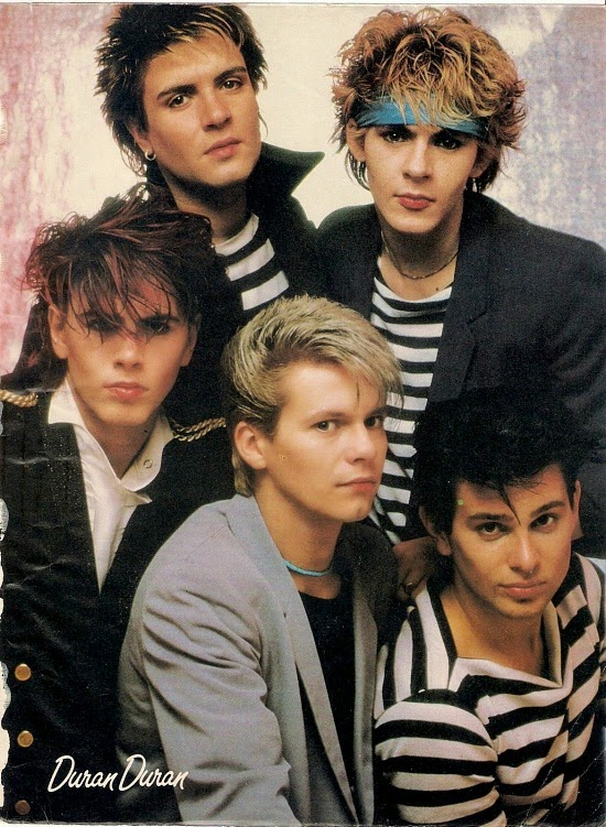 Duran Duran in 1981 - Australian Woman's Weekly
