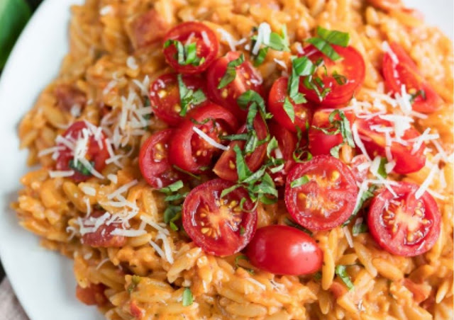 CREAMY TOMATO ORZO RECIPES
