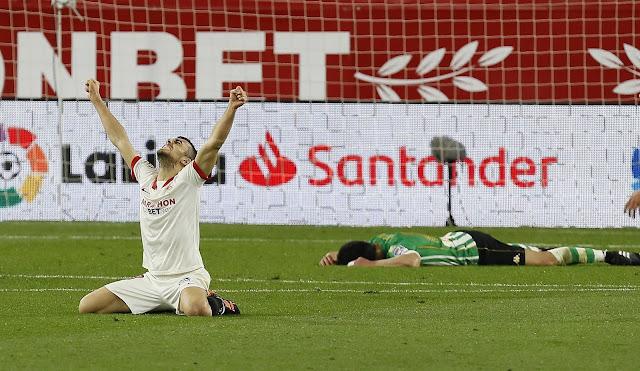 Crónica Sevilla FC 1 - Real Betis 0