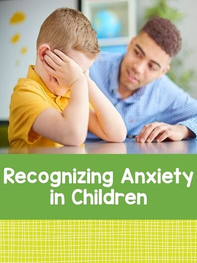 When children experience anxiety, they do not display the same symptoms as adults. Learn to recognize the signs of anxiety in children.