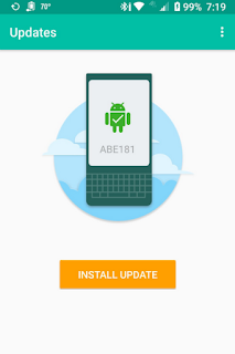ABE181 software update for BlackBerry KEY2