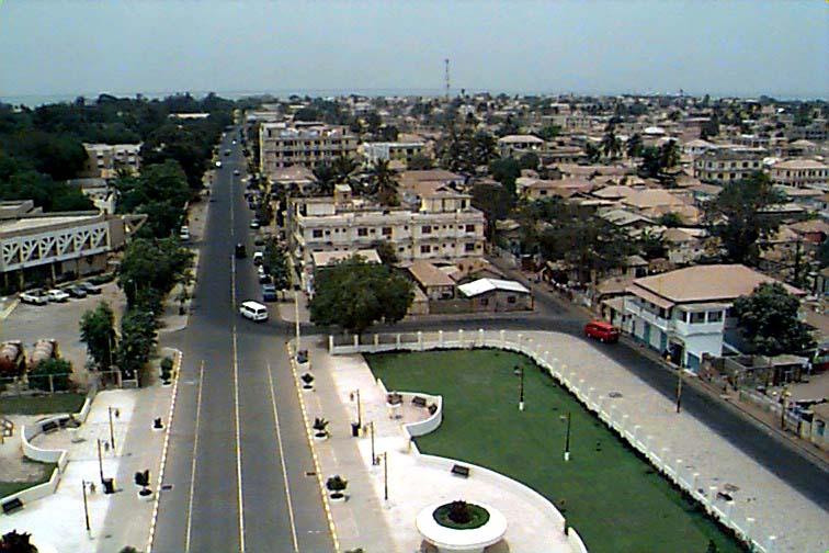 Banjul, Capital de Gâmbia