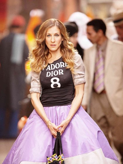 Carrie Bradshaw - Fashion And Style Sex And The City  Plumede-9720