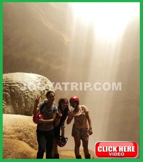 jogja trip travel, jogja tour driver, goa jomblang, jomblang cave jogjakarta