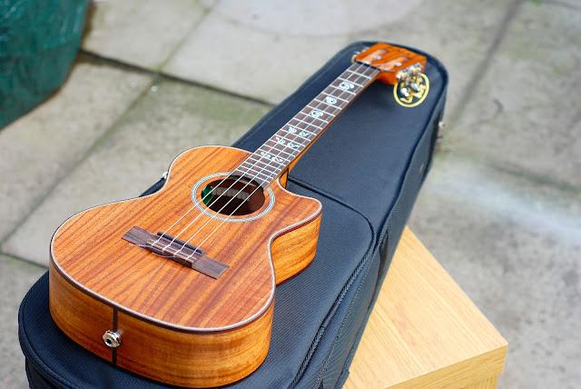 Kala ASAC-TE/C All solid acacia tenor ukulele