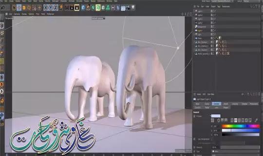 كيفية تثبيت وتفعيل عملاق التصميم ثلاثى الابعاد CINEMA 4D S22.016