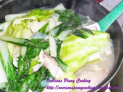 Lauya nga Luppo ti Baboy, Nilagang Pata ng Baboy - Cooking Procedure