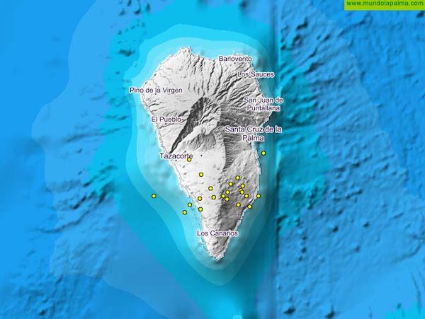 Nuevo enjambre sísmico en Cumbre Vieja