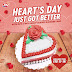 Dairy Queen's Limited Edition 6-inch Oreo Heart Shaped Blizzard Cake - SM City Sta. Rosa