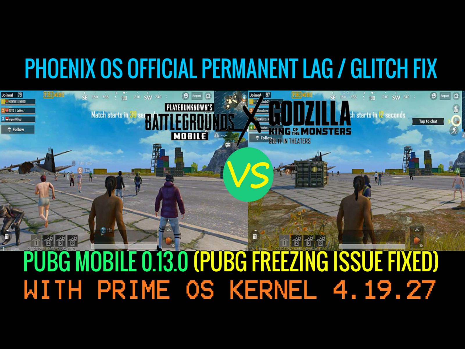 Phoenix OS Official PUBG Mobile 0 13 0 Permanently Fix Lag