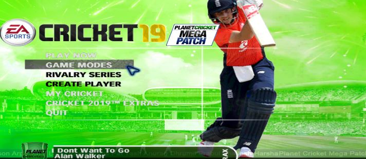 ea sports cricket 2011 patch free download for pc