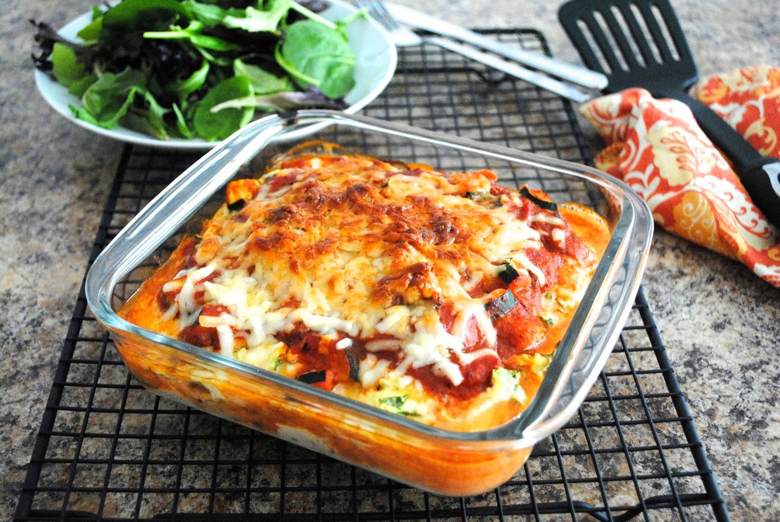Kitchin-it: Healthy Eggplant Lasagna!