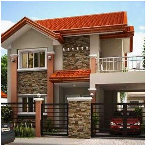 desain rumah minimalis 2 lantai sederhana jawa