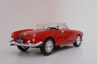Italeri Alfa Romeo Giulietta scale 1:24