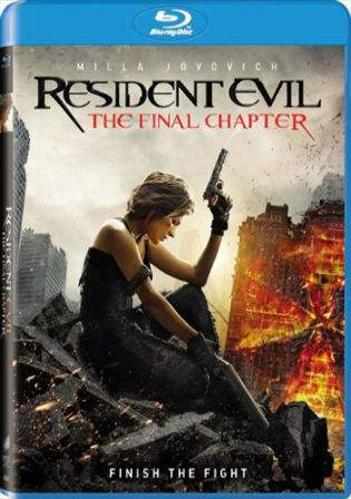 Resident Evil The Final Chapter 2016 BluRay 480p English 300MB ESubs