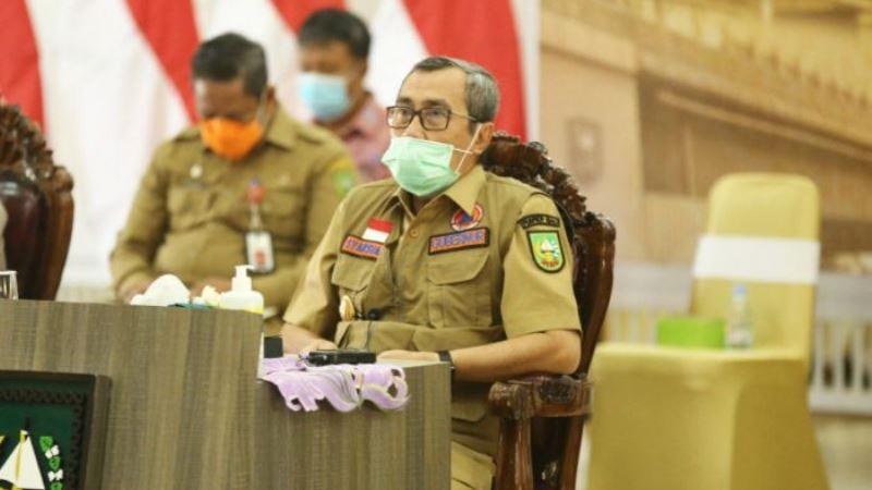 Gubernur Riau Minta Semua OPD Aktif Dalam Kampanye dan Antisipasi COVID-19