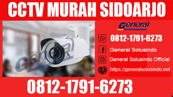 CCTV Murah Taman Sidoarjo Terlengkap dan Terpercaya