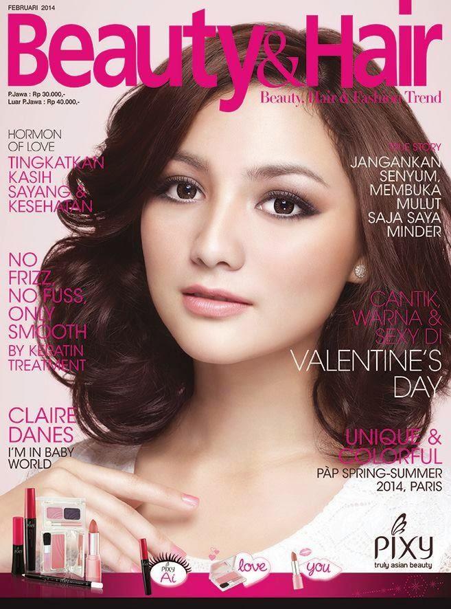 Desain Cover Majalah Salon Kecantikan  BiteBrands
