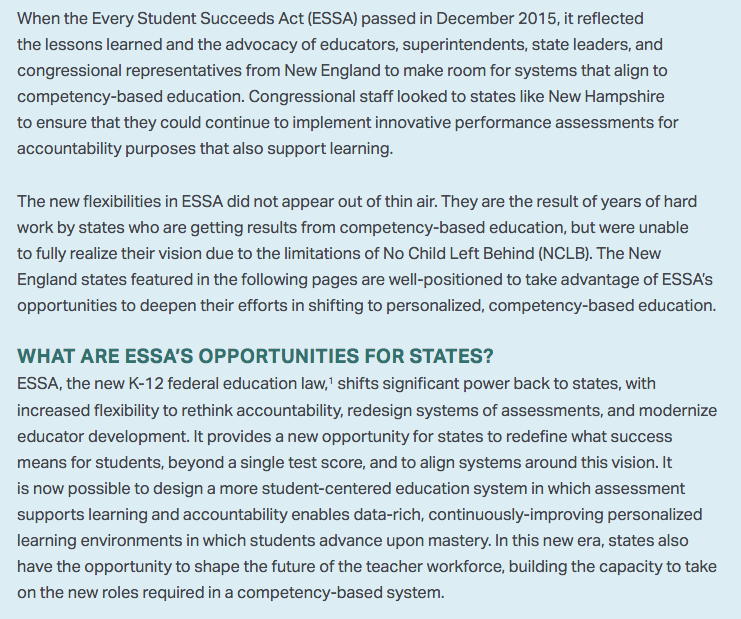 Schools matter new cbe blueprint thanks essa instead of sending a check when the bastards next come begging maybe you will send a copy of this report with a thank you to npe fairtest aft nea bats malvernweather Gallery