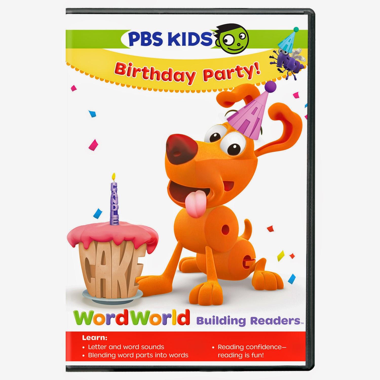 Going Full Throttle: PBS Kids: Word World: Birthday Party