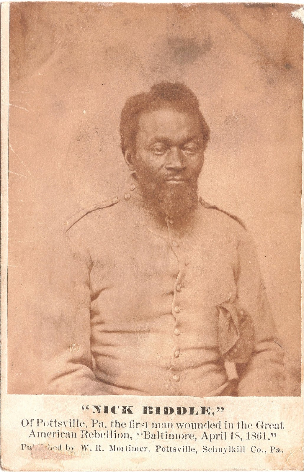 The 48th Pennsylvania Volunteer Infantry Nicholas Biddle A Forgotten Hero Of The Civil War