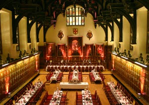 Middle Temple Hall (From Middle Temple website)