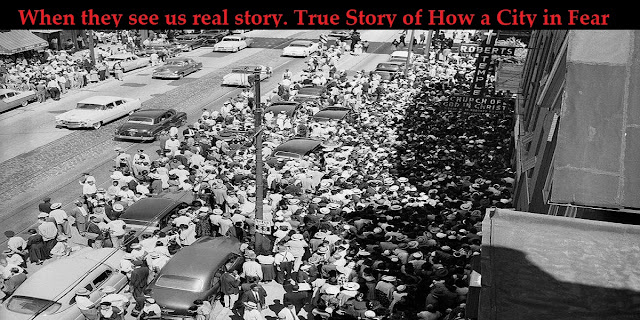 When they see us real story. True Story of How a City in Fear Brutalized the Central Park Five.