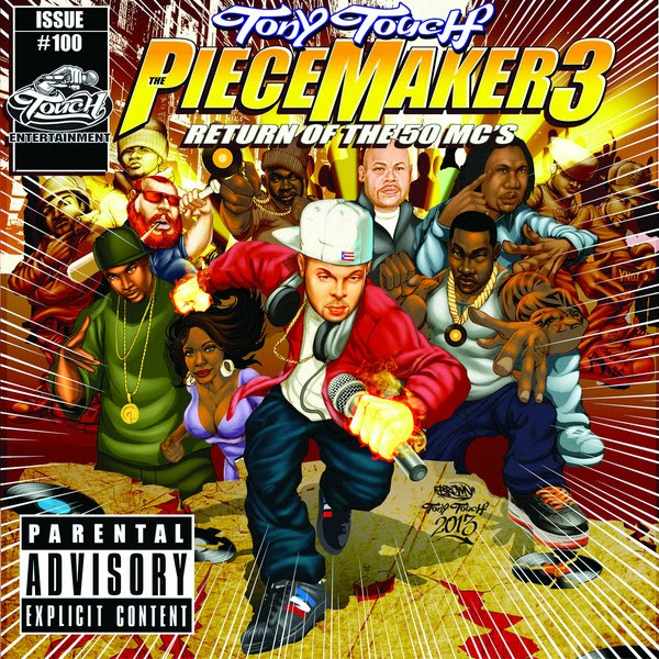 Tony Touch - The Piece Maker 3 - Return of the 50 MCs Cover