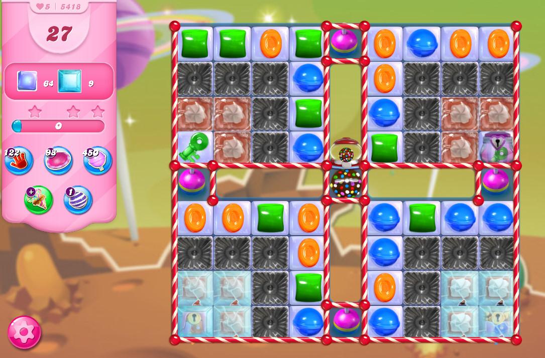 Candy Crush Saga level 5418