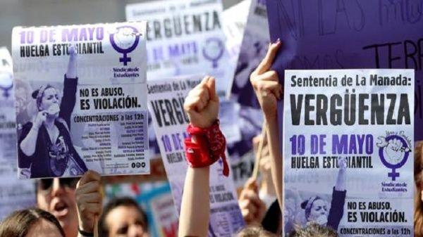 Miles de españoles manifestaron contra sentencia de La Manada