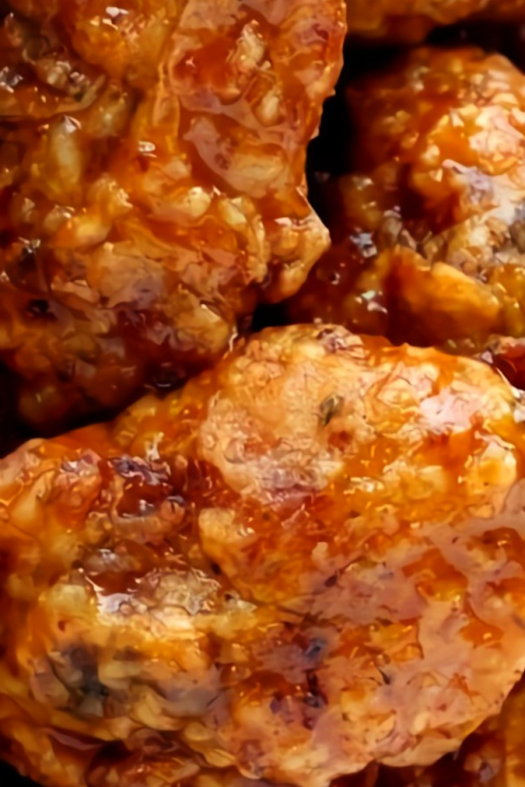 Fried Whiskey Wings