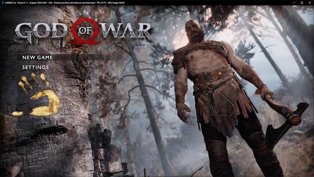 تحميل لعبة اله الحرب god of war 4 للكمبيوتر كاملة برابط مباشر ميديا فاير مضغوطة مجانا بحجم صغير
