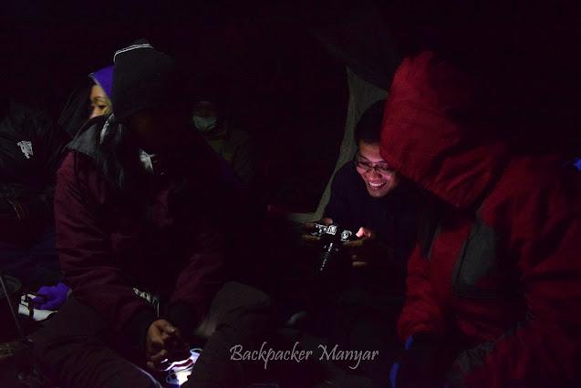 Bermalam di Ranu Kumbolo gunung Semeru