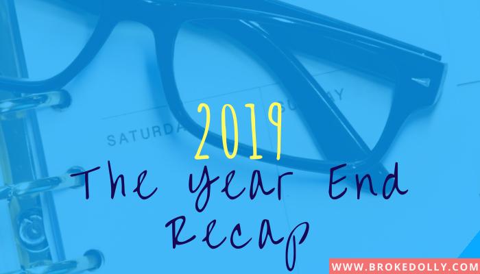 2019 - The Year End Recap