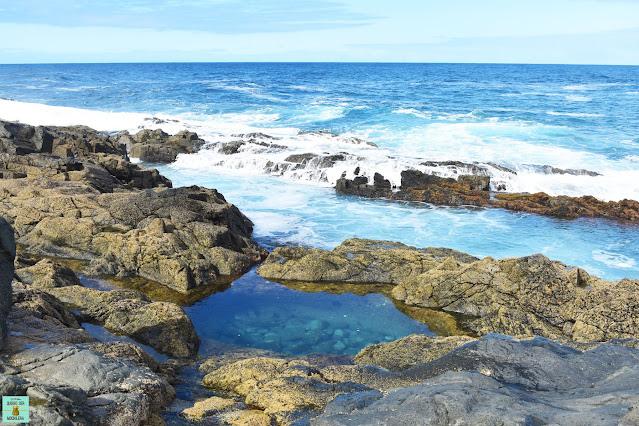 Piscinas naturales de Aguas Verdes, Fuerteventura