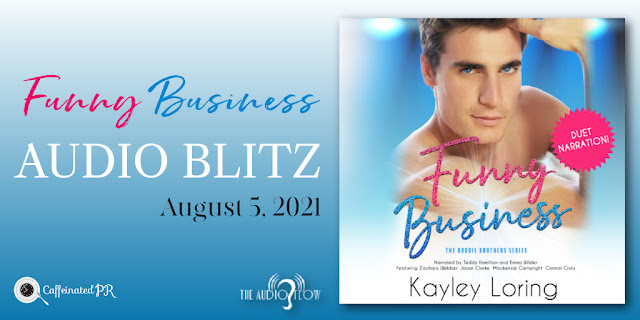 Spotlight/Audio Release:  Funny Business by Kayley Loring