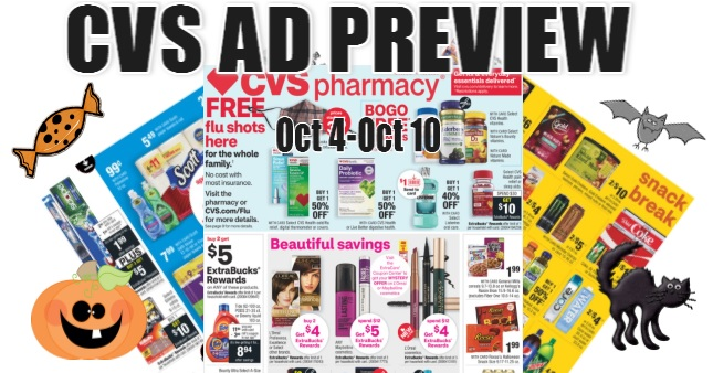 CVS Ad Scan 10-4 to 10-10