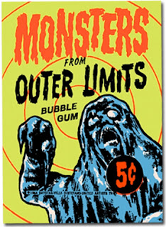 Topps' Monsters from Outer Limits trading cards