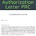 Authorization Letter PRC renewal sample doc