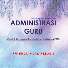 Contoh RPP Kelas 3 Tema 7 Kurikulum 2013 Revisi 2018 || Galeri Guru