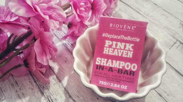 Opinia #43: Biovene Barcelona, Pink Heaven Shampoo-in-a-bar (Szampon w kostce)
